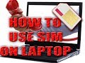 How to Install 3G & 4G SIM Card in your HP Elitebook and ...