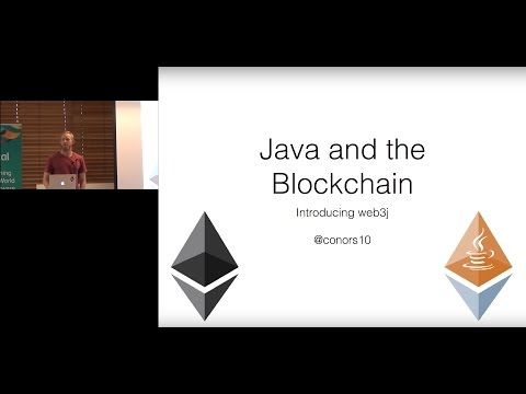 Java and the Blockchain by Conor Svensson