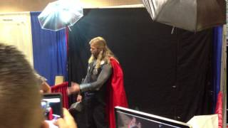 Thor Look a like@Tampa ComicCon 2012