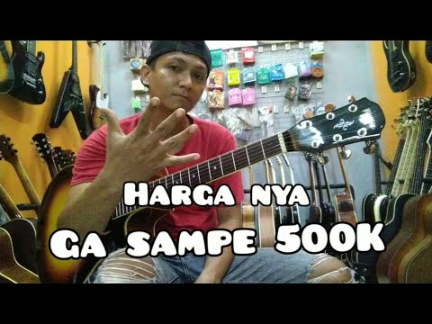 Review gitar custom model yamaha APX 500 ..
