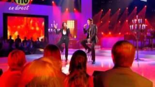 Laura Pausini & Vincent Niclot à Stars Contre le Sida : In Assenza Di Te