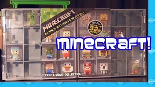 Minecraft Toys Mini Figure Collector Case Review Unboxing
