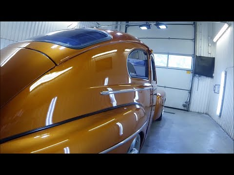 Exclusive Detailing 1961 Volvo PV with Meguiars and AMMO