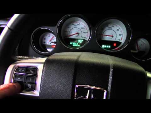 Secret Hidden EVIC Menus Dodge Challenger Charger Chrysler 300