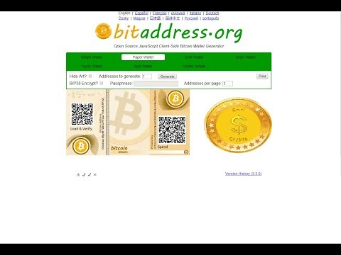 How To: Create Your Own BitCoin Address And Wallet With Full Control Offline And Use It Online
