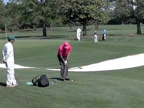 "Short Game genius Jose Maria Olazabal ""Seve"" short game practice   Watch & Learn"