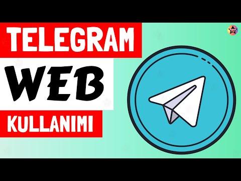Telegram Web Nasıl Kullanılır? Telegram Web Çıkış Yapma   Web.telegram.org