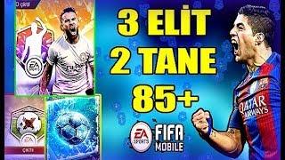 FARKINDA OLMADAN 85+ ELİT ÇIKARMAK ! 2 TANE 85+ ELİT - Fifa Mobile 18
