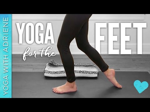Yoga For The Feet - Yoga With Adriene