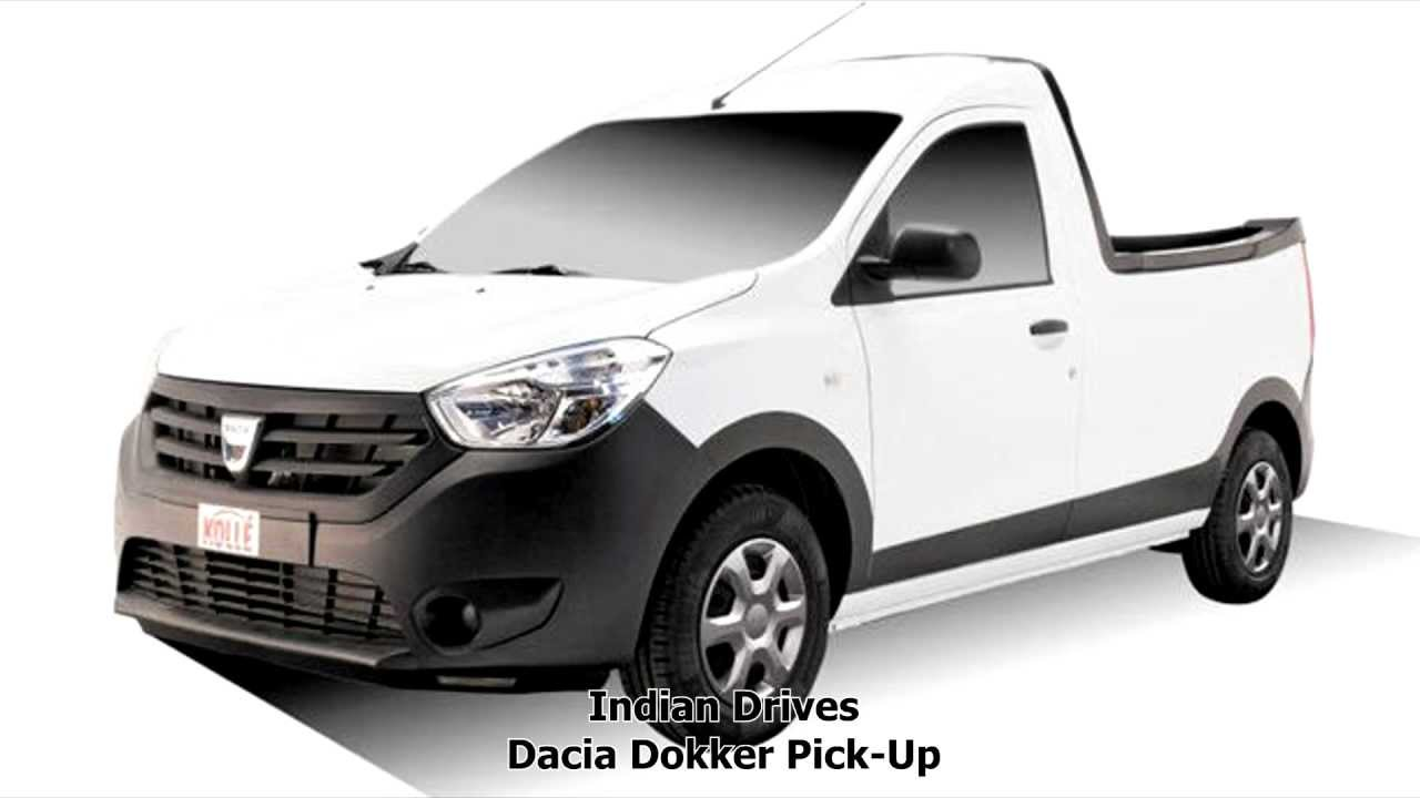 dacia dokker pick up details youtube. Black Bedroom Furniture Sets. Home Design Ideas