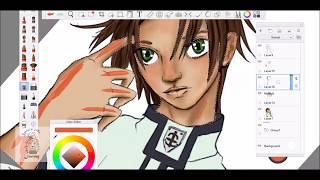 Speed Drawing/Paint FAN ART Teito Klein 07-Ghost