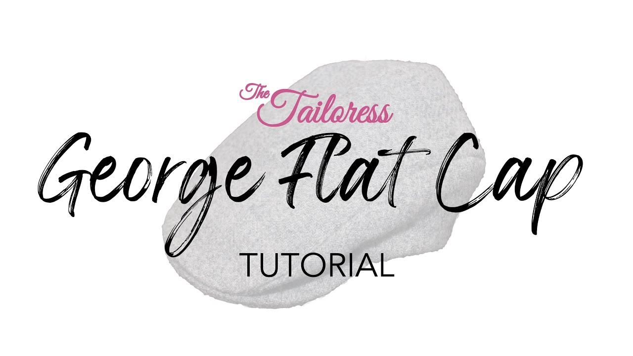 158c677d86 George Flat Cap Sewing Pattern Tutorial - Fast Speed - YouTube