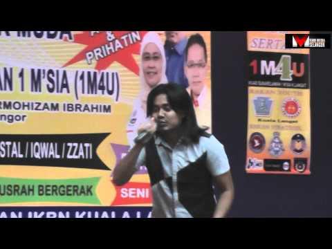 Live Lan Kristal - Selagi Ada Rindu di IKBN Kuala Langat