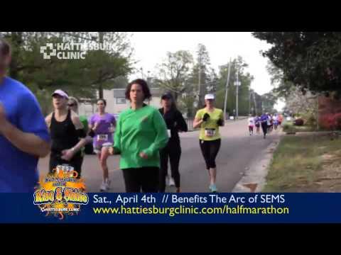 4th Annual Hattiesburg Clinic Rise & Shine Half-Marathon And 5K