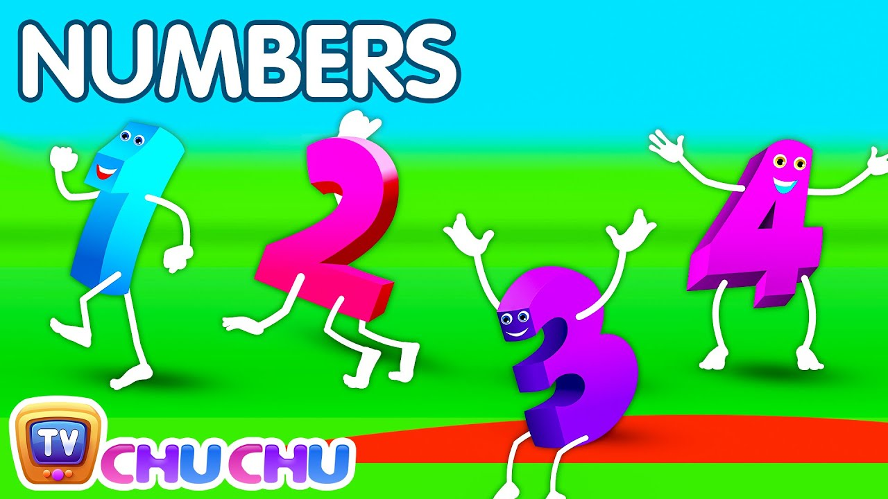 The Numbers Song Learn To Count From 1 To 10 Number Rhymes For Children Youtube