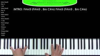 awesome god how to play on the piano