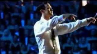Robbie Williams karaoké my way live 2001