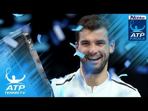 Grigor Dimitrov defeats David Goffin to win 2017 Nitto ATP Finals title!