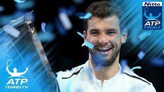 Grigor Dimitrov beats David Goffin to win 2017 Nitto ATP Finals title!