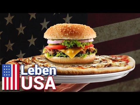 Was bedeutet Fast Food in USA? Amerikanisch Essen