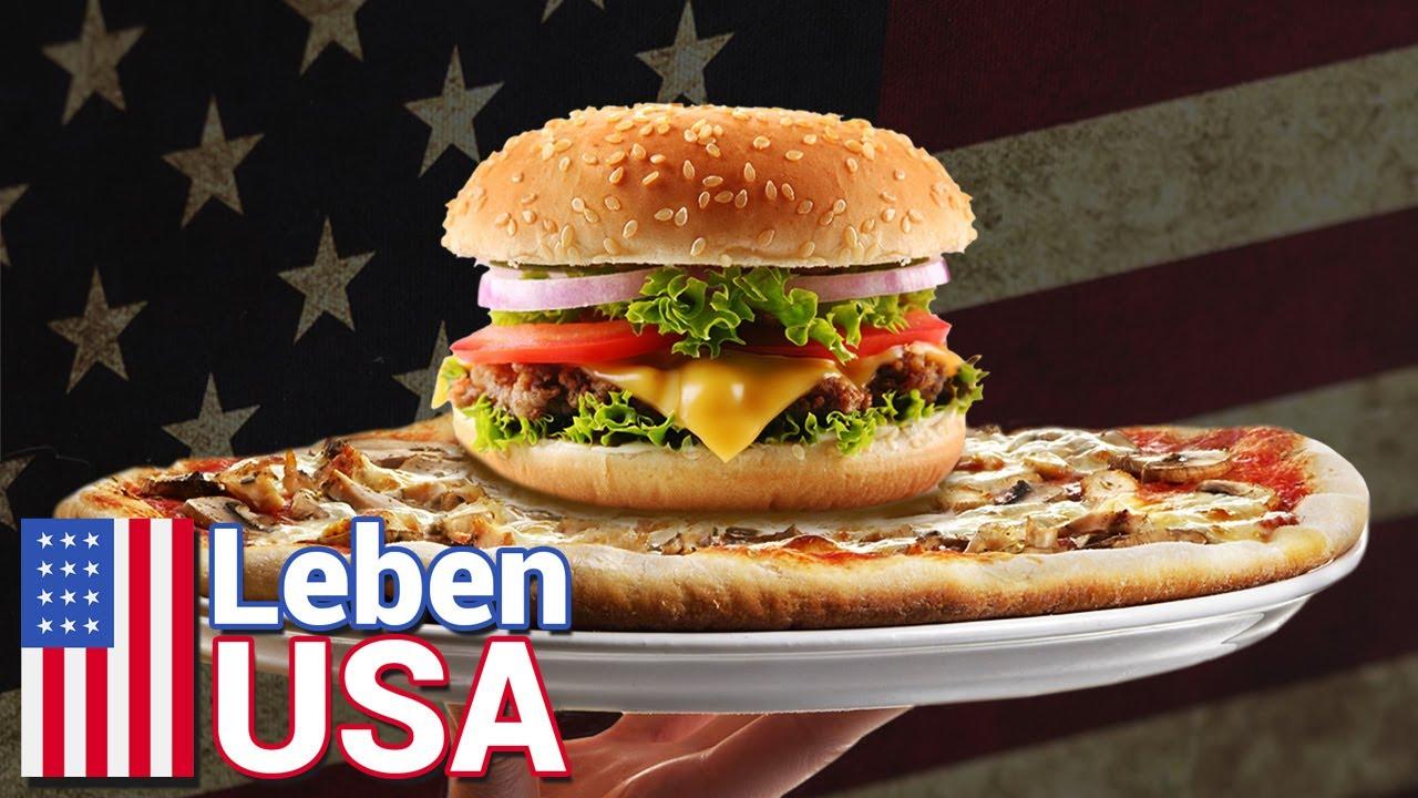Fast Food in USA: Amerikanisch Essen - YouTube