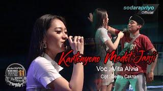 Download lagu KARTONYONO MEDOT JANJI VITA ALVIA Live One Nada Pemuda Patok 11  (Official Video)