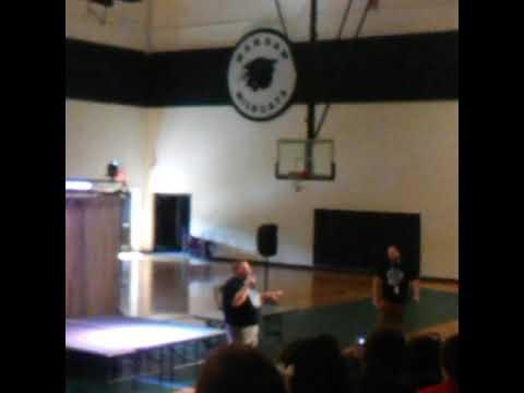 John Boise Middle School Talent Show Rap Battle Payne VS Warstat