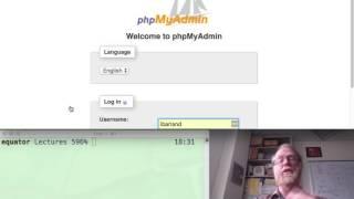 sql using mysql admin
