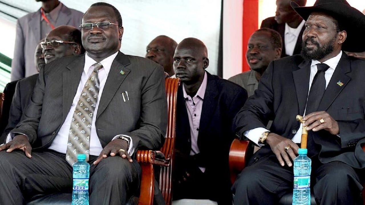 رئيس دولة جنوب السودان سلفاكير ميارديت