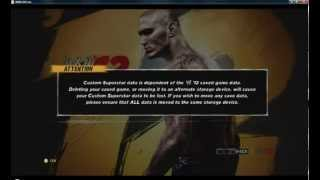 Lets play WWE 12