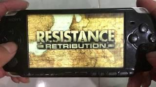Chơi Game Resistance trên máy Game cầm tay PSP✅