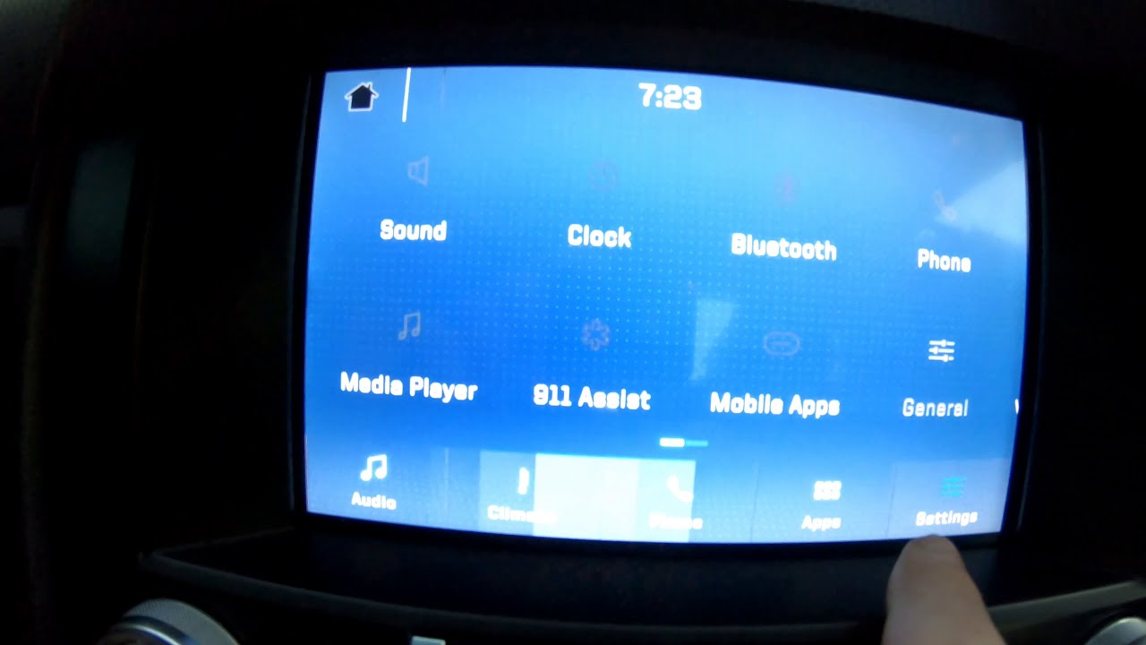 Ford Sync 3 Video player& Tema uygulaması