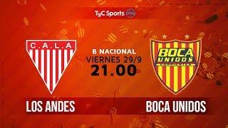 Los Andes vs Boca Unidos full match