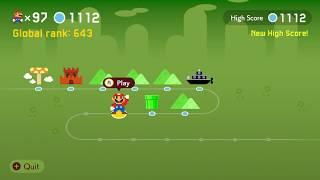 Super Mario Maker 2 🔧 Endless Challenge 1105 - 1120