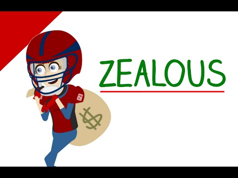 Learn English Words - Zealous (Vocabulary with Pictures) - Educational Videos for Students