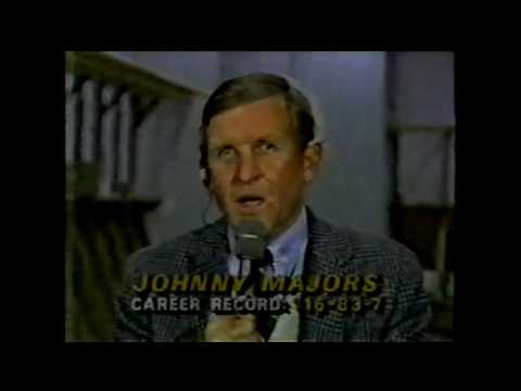 1985 UT/Vandy Post Game Vol Interviews (Johnny Majors, Tim Mcgee, Tony Robinson, Eric Swanson
