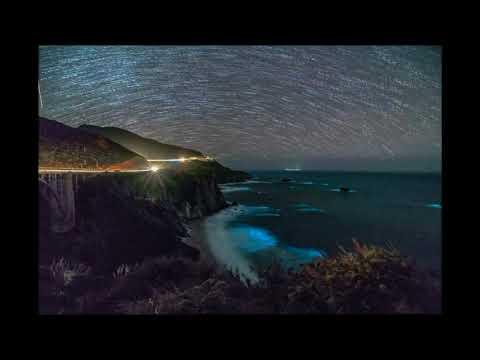 Phytoplanton lights up Big Sur