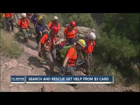 Colorado Search and rescue cards