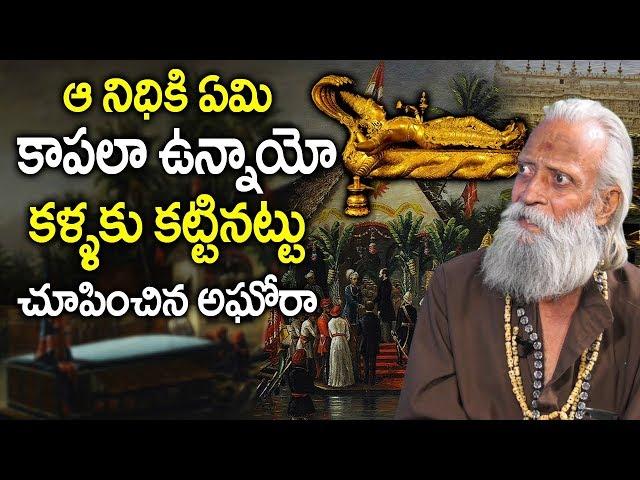 ఆనిధికి కాపలా ఎవరో..కళ్ళకు కట్టినట్లు చూపించాడు | Nagabandam Facts Of Ananthapadmanabha swamy Temple