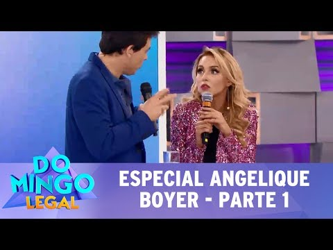 Domingo Legal (16/07/17) - Especial Angelique Boyer - Parte 1