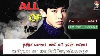 [Karaoke - THAISUB] All of Me [Live] - Chanyeol EXO