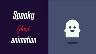 Spooky Ghost Animation | HTML & CSS