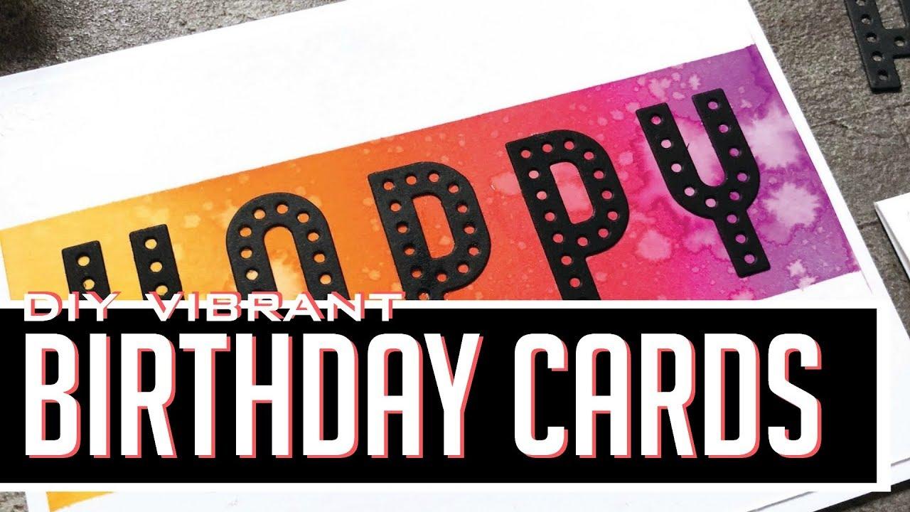 Custom Birthday Cards Spellbinders Large Die Of The Month July 2018