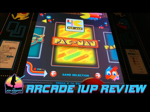 Arcade 1Up Pac Man 40th Anniversary Review from The Jedi Knights Watch