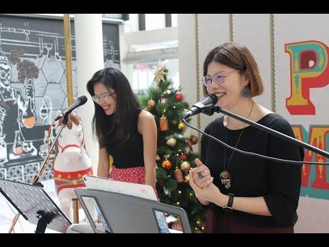 Alessia Cara 's Scars To Your Beautiful by Teo Zuo En and Yang Xin Hui Pomo Christmas Carolling