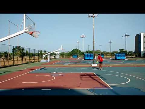 3 pointer- Practice shot (Vasa Jaishanth)
