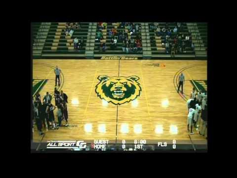 #10 Rocky Mountain College (White) vs. #19 Mid America Nazarene (Blue)