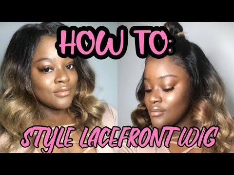 Styling Lace Frontal Wig ❤️