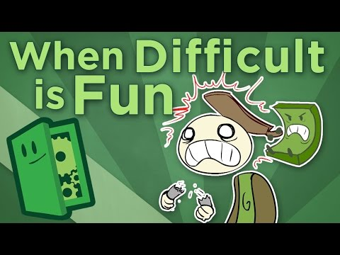 When Difficult Is Fun - Challenging vs. Punishing Games - Extra Credits