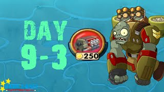 Plants vs. Zombies 2 China - Castle in the Sky - One Gun Guard 3